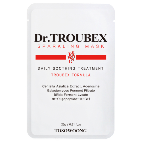TOSOWOONG Dr. Troubex Sparkling Mask Pack (10pcs in a box)
