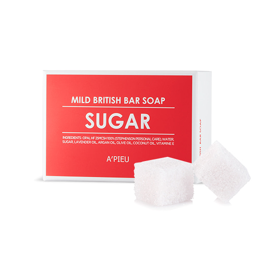 A'PIEU Mild British Bar Soap Sugar