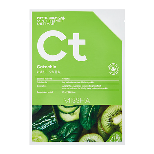 MISSHA Phyto-Chemical Skin Supplement Sheet Mask Ct 25ml