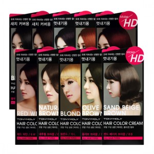 TONYMOLY Make HD Hair Color Cream 40g+80ml