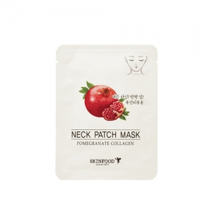 SkinFood Pomegranate Collagen Neck Patch Mask 2 packs