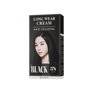 Missha Long Wear Cream Hair Coloring Black