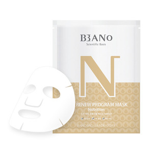 BANO Skin Renew Program Mask Nutrition 2ea