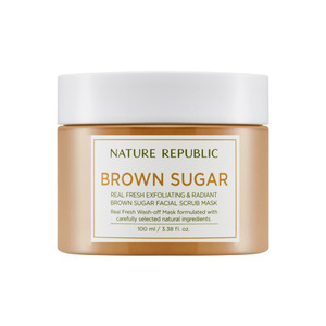 Nature Republic Real Fresh Brown Sugar Facial Scrub Mask 100ml