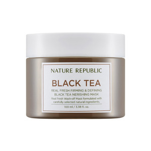 Nature Republic Real Fresh Black Tea Nerishing Mask 100ml