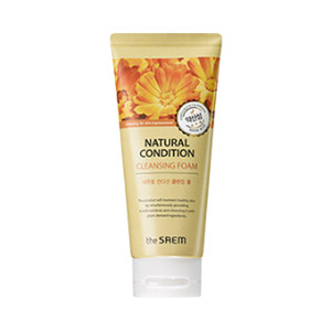 the SAEM Natural Condition Cleansing Foam Weak Acid 150ml