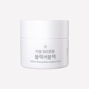 TIAM Sebum Drying Black Bubble Pack 80ml