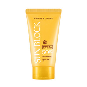 Nature Republic California Aloe Perfect Sun Block SPF50+ PA++++ 150ml