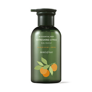 innisfree My Essential Body Refreshing Citrus Body Cleanser 330ml