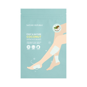 Nature Republic Foot & Nature Coconut Cooling Foot & Leg Patch