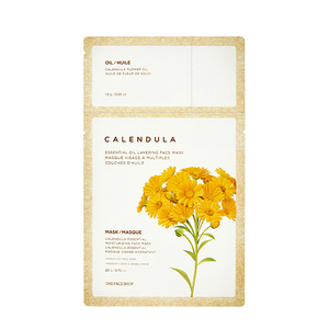 The FACE Shop Calendula Essential Oil Layering Face Mask