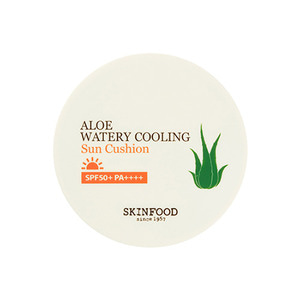 SkinFood Aloe Watery Cooling Sun Cushion SPF50+ PA++++ 13g