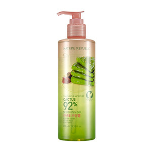 NATURE REPUBLIC Soothing & Moisture Cactus 92% Soothing Gel 400ml (Pump)