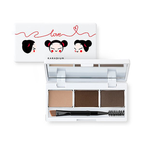KARADIUM PUCCA LOVE EDITION EYEBROW CAKE 1.6g*3ea