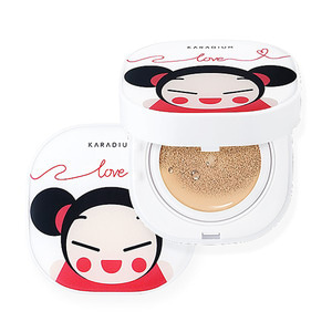 KARADIUM PUCCA LOVE EDITION MOISTURE COVER CUSHION SPF50+ PA+++ 15g
