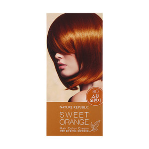 Nature Republic Hair & Nature Hair Color Cream 8O Sweet Orange