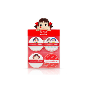 HOLIKA HOLIKA Sweet Peko Edition Hard Cover Cushion Puff 4ea