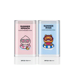 THE FACE SHOP Summer Apeach Natural Sun Eco Sun Stick SPF50+ PA++++ 20g