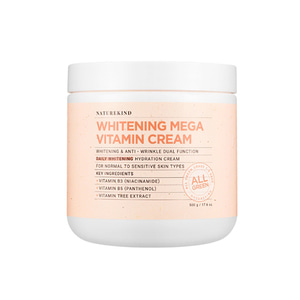 NATUREKIND Whitening Mega Vitamin Cream 500g