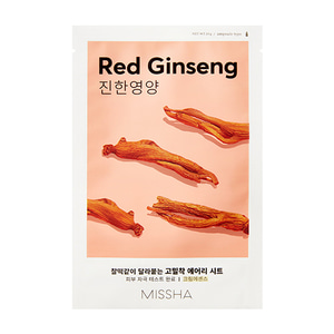 MISSHA Airy Fit Sheet Mask Red Ginseng 19g