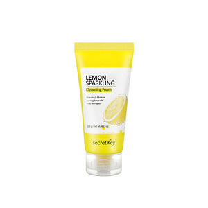 secretKey Lemon Sparkling Cleansing Foam 120g