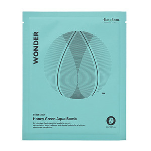 Haruharu Wonder Honey Green Aqua Bomb Mask 1ea
