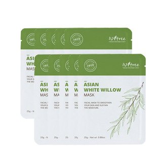 Isntree Asian White Willow Mask 25g * 10ea