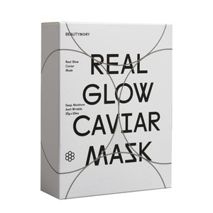 BEAUTYMORY Real Glow Caviar Mask 10ea