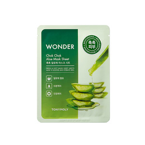 TONYMOLY Wonder Chok Chok Aloe Mask Sheet 20g 1ea