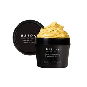 B&SOAP Breni Yellow Wash Off Pack 130g