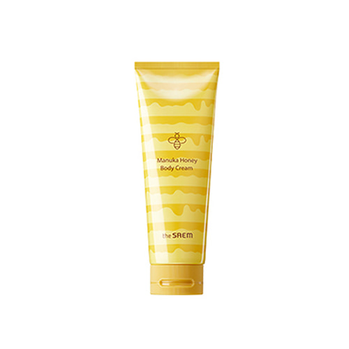 the SAEM Care Plus Manuka Honey Body Cream 230ml