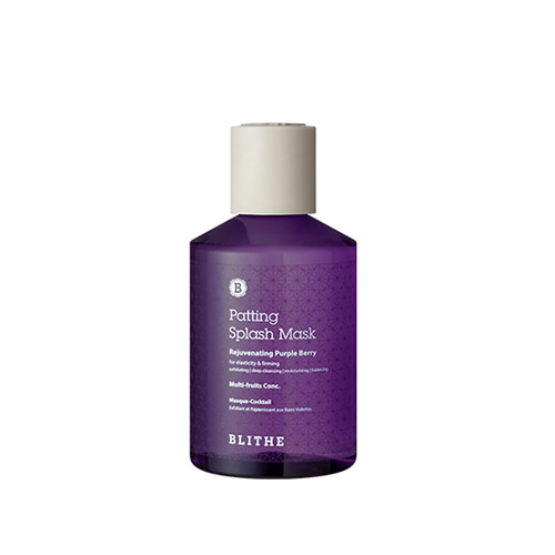 BLITHE Patting Splash Mask Rejuvenating Purple Berry 150ml