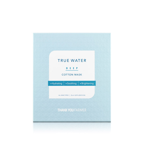 THANK YOU FARMER True Water Deep Cotton Mask 5ea