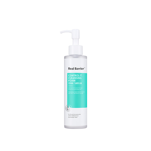 Real Barrier Control-T Cleansing Foam 180ml