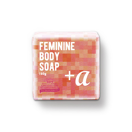 ONEOSEVEN Feminine Body Soap + ALPHA 160g