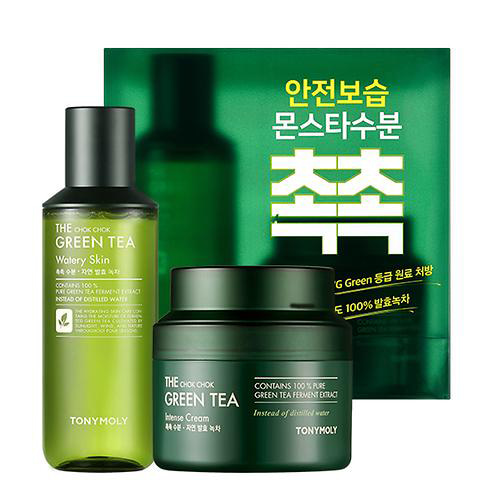 TONYMOLY The Chok Chok Green Tea Intense Cream Special Set