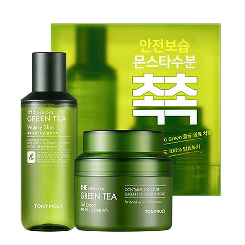 TONYMOLY The Chok Chok Green Tea Gel Cream Special Set