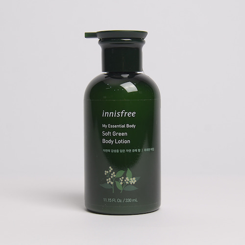 innisfree My Essential Body Soft Green Body Lotion 330ml