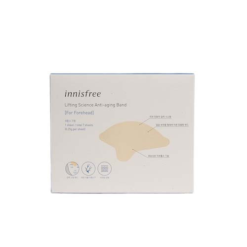 innisfree Lifting Science Anti-Aging Band (For Forehead) 7ea
