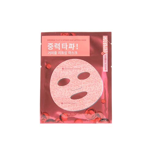 ETUDE HOUSE Wrinkle T.A.P.A Spider Map Lifting Mask 3ea
