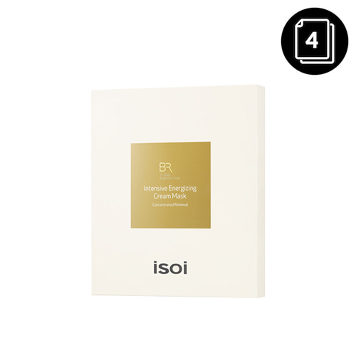 isoi Bulgarian Rose Intensive Energizing Cream Mask 4ea