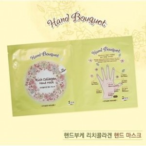 Etude House Hand Bouquet Rich Collagen Hand Mask 16g