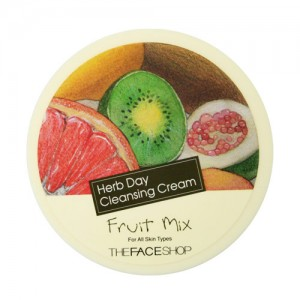 The FACE Shop Herb Day Cleansing Cream Fruit Mix