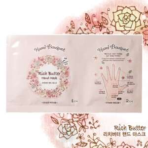 Etude House Hand Bouquet Rich Butter Hand Mask 16g