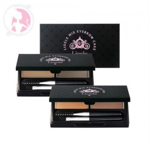 Lioele Mix Eyebrow Cake #2 Grey/Dark Grey 2.5g